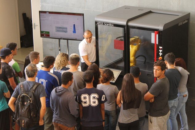 Campus Betim recebe workshop sobre metrologia