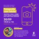 Minicurso online fotografia com o celular