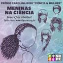 Cartaz Prêmio SBPC Carolina Bori