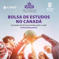 IFMG comunica abertura de seleção de estudante para bolsa de estudos no Canadá
