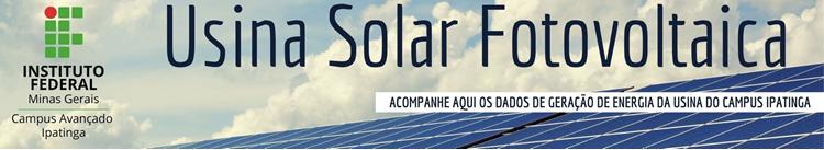 Usina Fotovoltaica IFMG Ipatinga