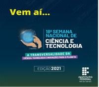 SNCT 2021: submissão de propostas de atividades vai até dia 18/10