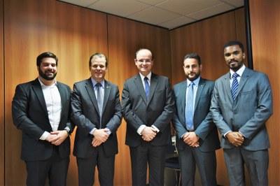 Ministro da Educação recebe a direção do IFMG Ipatinga em Brasília - DF