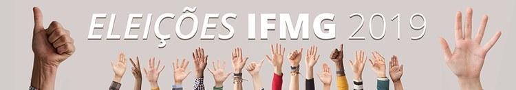 Banner Eleições IFMG 2019