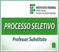 Processo Seletivo Simplificado para Professor Substituto em Educação Física - EDITAL 06/2020 - IFMG Campus Ipatinga