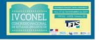 Professora do IFMG Campus Avançado Ipatinga participa do IV Congresso Nacional de Estudos Linguísticos (CONEL) em Vitória