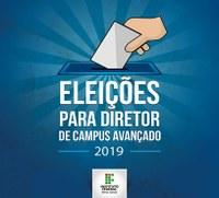 Reitoria dá início às eleições para diretor dos campi avançados