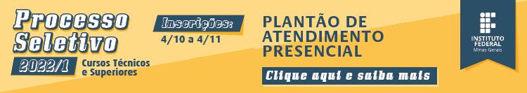 Processo Seletivo 2022 - Plantão de Atendimento