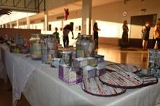 Artesanato produzido pelos alunos da APAE