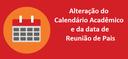 Alteração Calendário Acadêmico