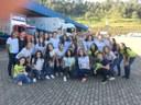 Estudantes na visita à Bartofil