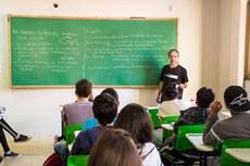 Sala de aula - ensino médio - 2