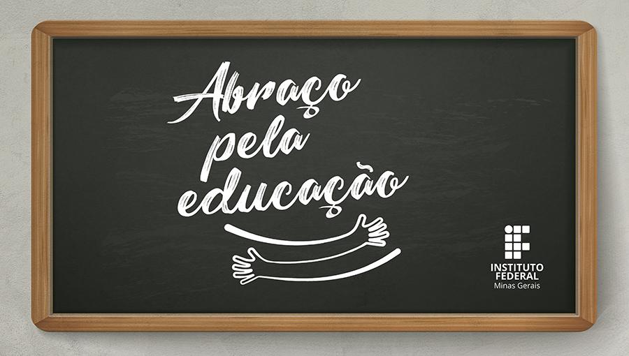 Abraço pela educação