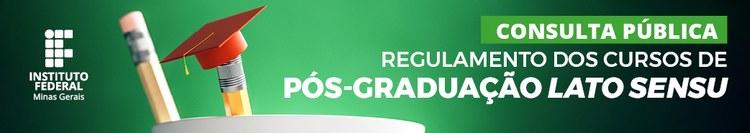 Consulta pública sobre o regulamento dos cursos de pós-graduação
